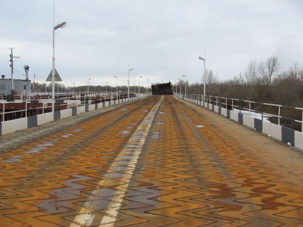 Продаётся наплавной автодорожный мост